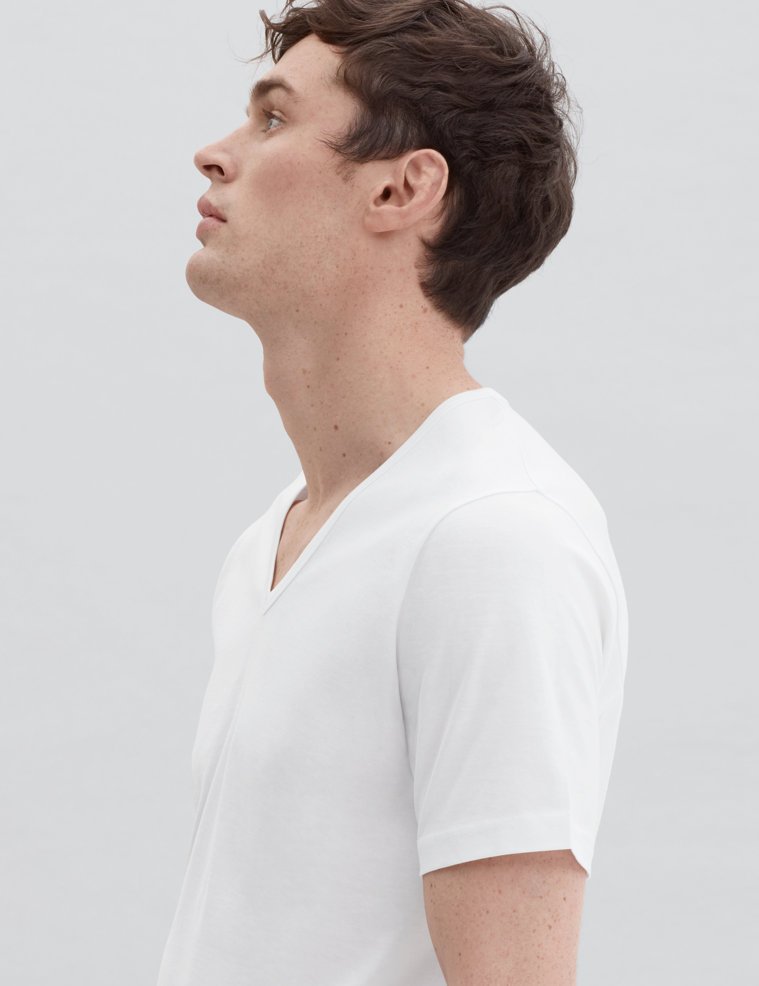 Low Cut Mens T Shirts